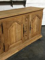 Superb Long French Oak Dresser Base (3 of 15)