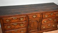 Mid 18th Century George III Large Oak Dresser Base (5 of 11)