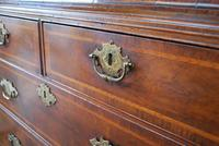George I Walnut Double Dome Bookcase on Chest (8 of 10)