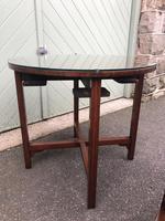Edwardian Mahogany Round Nest of 5 Tables (8 of 9)