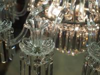 19th Century Crystal Tent & Waterfall Chandelier (8 of 18)