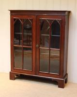 Mahogany Gothic Glazed Bookcase (5 of 11)