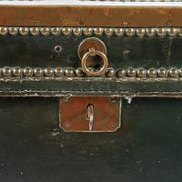 Georgian Leather Bound Campaign Trunk (8 of 8)