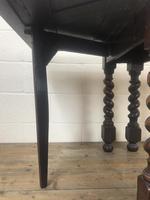 Early 20th Century Antique Oak Gateleg Table (8 of 9)