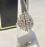 1960's Diamond & 14ct White Gold Ring
