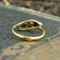 The Antique Art Deco Five Chip Diamond Ring (2 of 4)