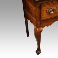 George III Oak Cabriole Leg Dresser (7 of 12)