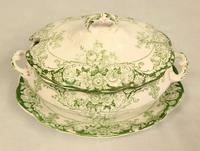 Antique Sauce Tureen on Stand (2 of 6)