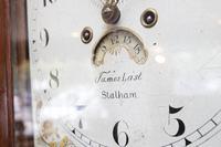 Stalham Made Oak Long Case Clock (4 of 4)