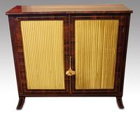 Regency Brass Inlaid Rosewood Side Cabinet (4 of 8)