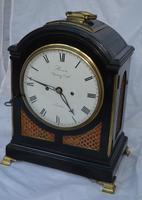 Brown, London Georgian Twin Fusee Bracket Clock (4 of 6)