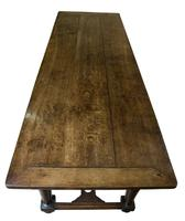 19thc English Oak Refectory Table c1850 (5 of 9)