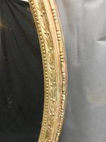 19th Century Ornate Oval Wall Mirror (4 of 16)