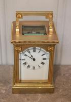 French Gilt Brass Carriage Clock (11 of 12)