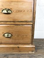 Antique Pine Chest of Drawers on a Plinth Base (5 of 13)