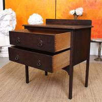 Arts & Crafts Oak Chest of Drawers (5 of 12)