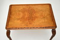 Queen Anne Style Burr Walnut Nest of Tables c.1930 (9 of 9)