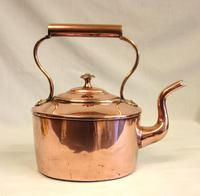 Antique Victorian Copper Kettle (4 of 6)