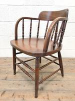 Antique Smoker's Bow Chair (5 of 9)