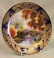 A Wonderful Noritake Cabinet Plate (4 of 5)