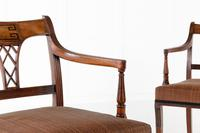 Set of Eight 19th Century Regency Mahogany Dining Chairs (9 of 11)