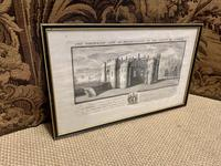 Set of 9 Framed Prints of Historic Castles & Abbeys (10 of 10)