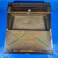 William IV Rosewood Lap Desk (14 of 18)