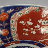 Late 19th Century Japanese Imari Pattern Bowl (3 of 3)