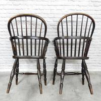 Near Pair of Stickback Windsor Armchairs (4 of 8)