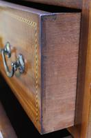 Tall Edwardian Mahogany & Inlaid Chest of Drawers (5 of 13)