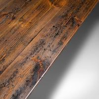 Very Large 13' Antique Dining Table, English, Pine, Country House, Victorian (9 of 12)