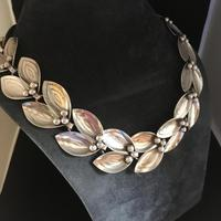 Danish Sterling Silver Necklace by Aare & Krogh. 1950s (2 of 5)