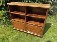 French Plum Pudding Mahogany Bookcase (5 of 8)
