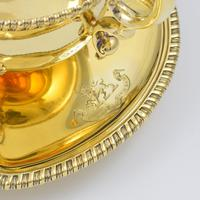 Fine Pair Of Edwardian Silver Gilt Sauce Boats (7 of 11)
