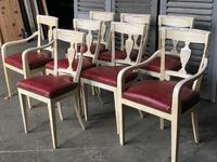 Set of 8 French Directoire Dining Chairs (5 of 16)