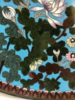 Antique Pair of Japanese Cloisonne Plates, Meiji Period (6 of 12)