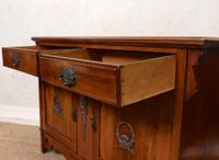 Dresser Base Arts & Crafts Walnut Sideboard 19th Century (10 of 11)