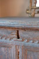 18th Century Painted Pine Coffer (5 of 28)