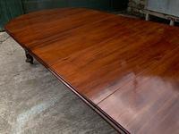Impressive Victorian Mahogany Extending Dining Table - Seats 12 (4 of 23)