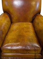 Pair of Leather Club Chairs c.1890 (5 of 11)