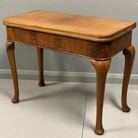 Pale Mahogany Queen Anne Style Side Table