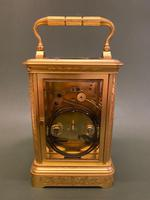 Alfred Drocourt - Very Good French Carriage Clock (3 of 6)