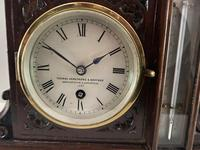 Clock, Barometer & Thermometer by Thomas Armstrong & Brother (2 of 4)
