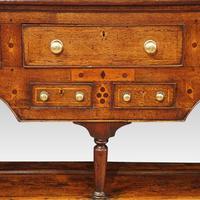 George III Oak Pot Board Dresser Base (6 of 13)