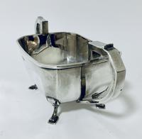 Solid Sterling Silver Art Deco Three Part Tea Set Service (17 of 20)