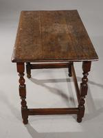 Late 17th / Early 18th Century Single Drawer Oak Side Table (4 of 6)