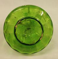 Antique Mary Gregory Green Glass Decanter (2 of 6)