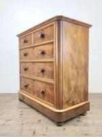Victorian Mahogany Straight Front Chest of Drawers (4 of 11)