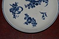 c1770- 78 Liverpool Porcelain Philip Christian Saucer Fruit Sprigs Saucer (6 of 7)