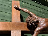 Large Oak Crucifix (4 of 6)